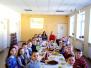 Baltā galdauta svētki Sventes vidusskolā