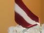 Baltais galdauts - simbols, kas vieno