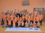 Biķernieku pamatskolā notika sporta nodarbība ar spīdvejistu Andžeju Ļebedevu