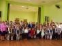 Biķernieku pamatskola svin Latvijas valsts 99. gadadienu