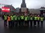 Biķernieku pamatskolas jaunsargi 18.novembra parādē Rīgā
