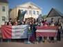 Biķernieku pamatskolas jaunsargi 4. maija svētkos Krāslavā
