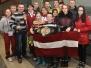 Biķernieku pamatskolas pārstāvji Eiropas čempionātā brīvajā cīņā