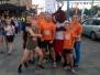 Biķernieku pamatskolas skrējēji piedalījās Jelgavas nakts pusmaratona rekorda uzstādīšanā
