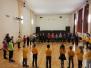Daugavpils apkaimes skolēni un skolotāji turpina apgūt latgaliskās tradīcijas caur folkloras dejām