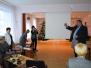 Daugavpils novada izglītības iestāžu vadītāji pieredzes apmaiņas braucienā apmeklē Krāslavu