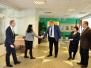 Daugavpils novadā viesojās ASV vēstniecības Latvijā pārstāvji