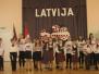 Kalupes pamatskolā izdziedāja, izdancoja, izskandēja, izsvinēja Latvijas jubileju
