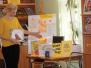 Lāču pamatskolas pirmklasnieki ciemos pie grāmatām