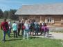 Lāču pamatskolas skolēni iepazīst sava pagasta kultūrvēsturisko un vēsturisko mantojumu