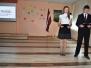 Latvijas svētku gaisotne Naujenes pamatskolā