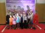 Laucesas pamatskolas skolēni dejo Daugavpils Olimpiskajā centrā
