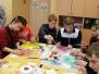Medumu speciālajā pamatskolā LSK brīvprātīgie rīkoja radošo darbnīcu