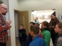 """Naujenes novadpētniecības muzeja apmeklējums programmas """"Latvijas skolas soma"""" ietvaros"""