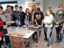 Naujenes pamatskolas 9. klases skolēni iepazīst profesijas