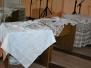 Naujenes pamatskolas Baltā galdauta brīdis un ozolu stādīšana