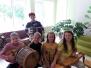 """Naujenes pamatskolas folkloras kopa """"Rūžeņa"""" bērni piedalījās nometnē """"Garā pupa"""""""