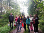 Naujenes pamatskolas lielo un mazo skolēnu rudens pārgājiens
