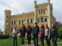 Naujenes pamatskolas skolēni Gārsenē