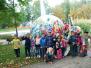 Naujenes pamatskolas skolēni meklēja rudeni