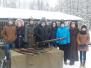 Naujenes pamatskolas skolēni Ziemassvētku kauju 100. gadadienas atceres pasākumos