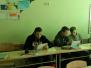 Naujenes pamatskolas skolotāji krāj idejas mācību stundām