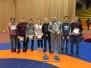 Novada sportisti startēja Latvijas čempionātā junioriem brīvajā cīņā