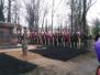 Pieminekļa atklāšana Daugavpils cietoksnī
