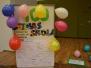 """Pirmklasnieku svētki """"100 dienas skolā"""" Špoģu vidusskolā"""