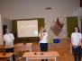 """Projekta """"Latvijas skolas soma"""" ietvaros Špoģu vidusskolas skolēni spēlē prāta spēli """"Trāpi simtniekā"""""""