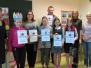 Skaļās lasīšanas sacensībā piedalījās Biķernieku pamatskolas izglītojamie