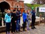 Špoģu vidusskolas komandas piedalās spēlē ''Jaunie Rīgas sargi''