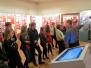 Špoģu vidusskolas skolēni iepazīst Rīgas muzejus un Saeimu