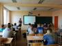 Špoģu vidusskolas skolēni paplašina savu redzesloku un diskutē par norisēm sabiedrībā