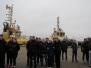 """Špoģu vidusskolēni piedalījās jūrniecības nozares konkursā """"Enkurs"""""""