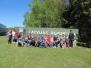 Sventes vidusskolas skolēni ciemojas pie robežsargiem