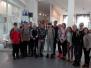 Sventes vidusskolas skolēni mācību ekskursijā Līvānos un Likteņdārzā