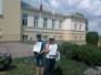 Sventes vidusskolas uzvarētāji Latvijas Sarkanā Krusta zīmējumu konkursā