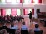 Tikšanās ar Valsts policijas pārstāvjiem Špoģu vidusskolā