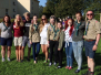 Vaboles vidusskolas gaidas Latvijas 100gadei veltītā akcijā-apceļot Latvijas robežu