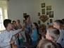 Vaboles vidusskolas skolēni mācību ekskursijā Berķenelē