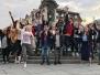 Vaboles vidusskolas skolēni Varšavā