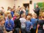 Valērijs Hrapāns iepazīstināja Silenes pamatskolas skolēnus ar savu hobiju
