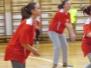 Volejbolā vidusskolu meitenēm uzvar Špoģu vidusskola