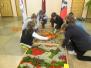 Ziedu paklāji Silenes pamatskolā