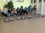 """Zinoo Kalupes pamatskolā ar """"Lego Mindstorms"""" robotu nodarbību"""